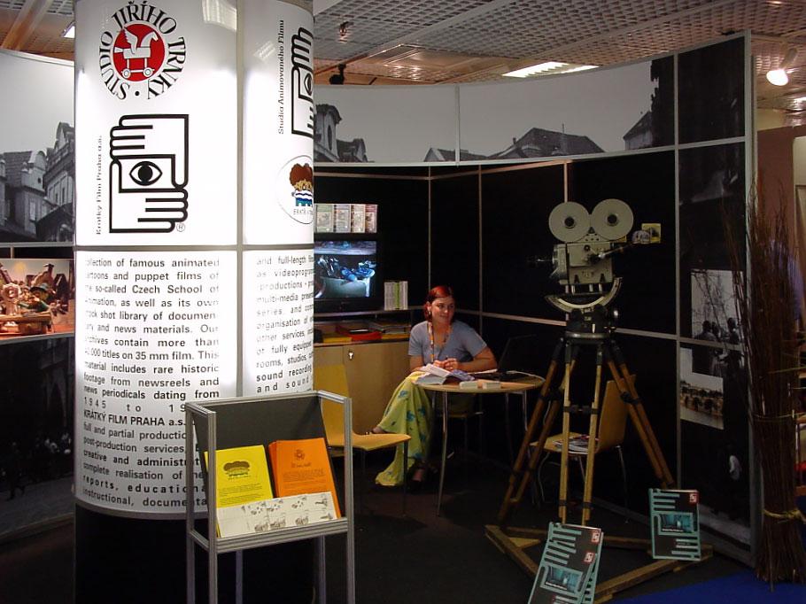 účast Krátkého filmu na MIP TV,Cannes 2000