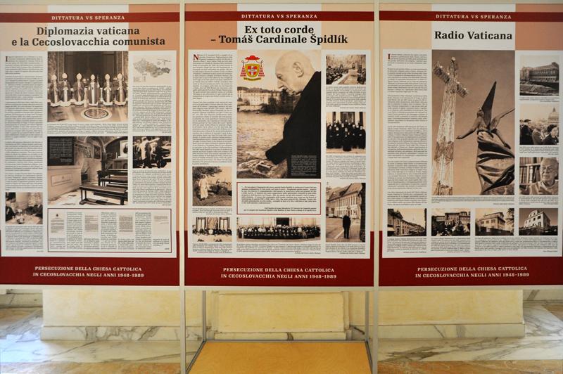 Výstava Pronásledování římskokatolické církve, Vatikán 2012