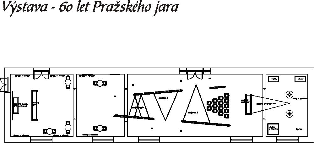 Půdorys - Tiskové středisko Pražského jara, Obecní dům 2007-14